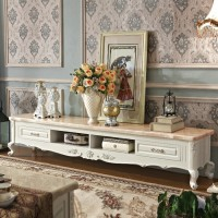 European Style Marble TV cabinet