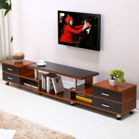 TV cabinet with table combination set