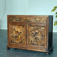 Asian style cabinet ancient solid wood cupboard