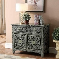 Wooden hand painted sideboard decoration cabinet