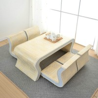 Bamboo cane Chair and Table Combination