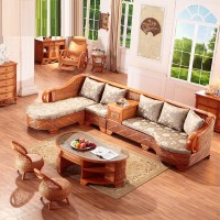 Rattan sofa Five piece combination
