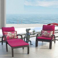 Rattan Lounge Chair Bed For Swimming Pool Out Door
