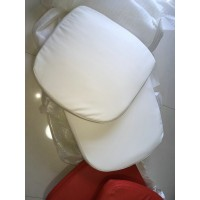 Replacement Cushions for Bubble Chair in White color and PU leather