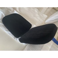 Replacement Cushions for Bubble Chair in Black color and Real Leather