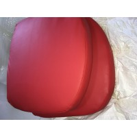 Replacement Cushions for Ball Chair in Red color and PU leather