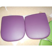 Replacement Cushions for Ball Chair in Purple color and PU leather