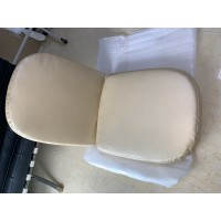Replacement Cushions For Ball Chair In Orange Color And Fabric