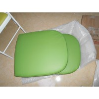 Replacement Cushions for Pod Egg Chair in Green color and PU leather