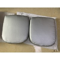 Replacement Cushions for Pod Egg Chair in Red color and Fabric