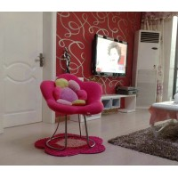 Flower Chair With Tube Stands