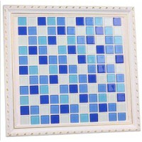 Simple style crystal glass mosaic tile Style 15