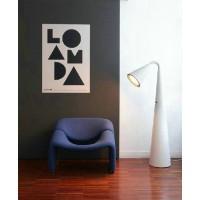 Art floor lamp of dogs pooping