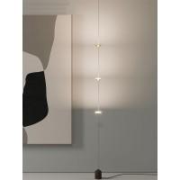 Modern remote control led floor landing lamp