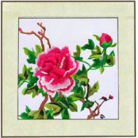 Embroidery decoration picture