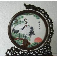 Embroidery table display