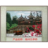 Embroidery handmade decoration picture