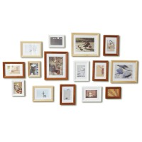 Wall photo collection of 15pcs