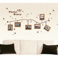 Hanging style wall photo collection