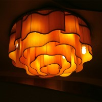 Cloud style ceiling lamp