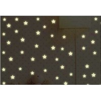 Fluorescent wall sticker stars styles