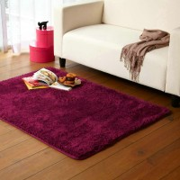 silk woollen mixed knitting carpet