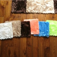 Soft wool ground mat