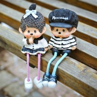 Long legs doll decorative display article