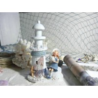 Lighthouse doll decorative display article