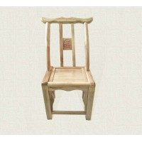 Wooden chair dining chair made of pine
