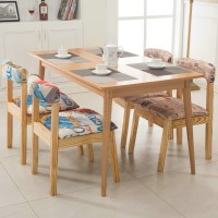 Modern fashion chair fabric with wood dining chair