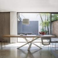 Loft dining office long conference table