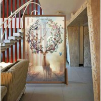 Modern Elk Seat Screen Partition