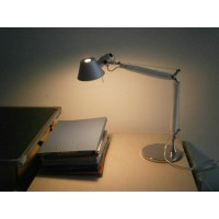Artemide Style Tolomeo Desk or Table Lamp of Double arms in Small size