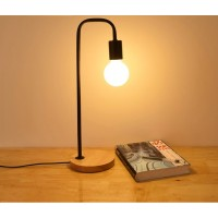 Warm light simple modern table lamp