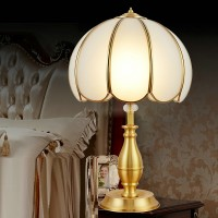 Brass decorative table lamp style 3