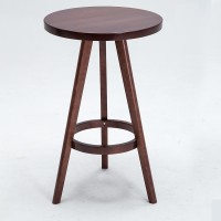Bar table in solid wood