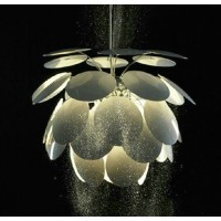 Artichoke Aluminium Pendant Lamp of Round Leaves