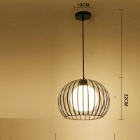 Creative iron pendant lamp simple chandelier style 16
