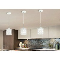 Creative iron pendant lamp simple chandelier style 7