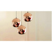Tom Dixon 15cm Diameter Copper ball pendant lamp