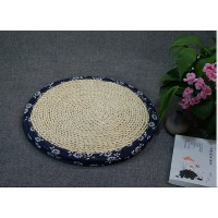 3cm thickness Straw plaited floor cushion