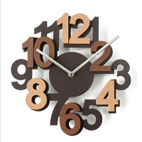 Number style clock