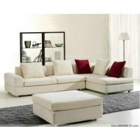 Modern Fabric Sofa Set With A Chaise