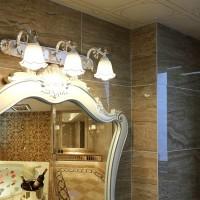 American simple waterproof fog led mirror front lamp bathroom mirror cabinet mirror lamp