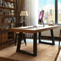 Simple Style Modern Table Long Home Desk Office Furniture