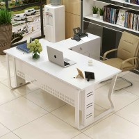 Fashionable office furniture boss table simple computer desk