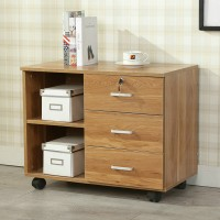 Office Files Cabinets Locked Drawers Table Storage