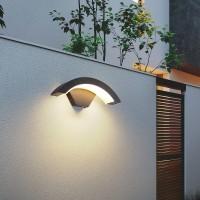 Solar wall lamp outdoor courtyard light