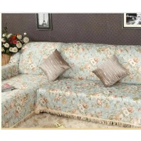 Rural style sofa cover
